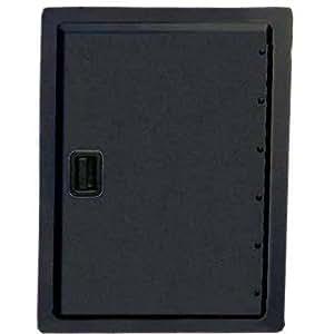 fire magic legacy 17 inch black single access