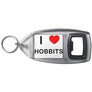 I Love Hobbits - Botella plástica del anillo dominante del abrelatas