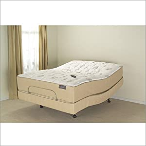 queen leggett and platt s cape adjustable bed base and mattress set. Black Bedroom Furniture Sets. Home Design Ideas