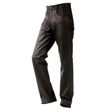 Pantalon moto cuir Femme Motomod JEANS VACHETTE