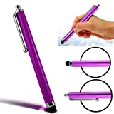 CellBig Introduces Brand New Gorgeous Purple High Capacitive / Resistive Spongy Rubber Soft Directional Tip Touch Screen Stylus Pen Suitable for Samsung S8003 Jet / S8300 Tocco Ultra Edition / Player Ultra / Star 3 DS / Tocco Lite 2 / T669 Gravity T / T7