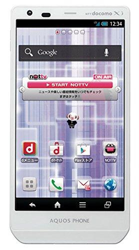 NTT Docomo Sharp Aquos Zeta SH-02E 32GB Quad-Core Unlocked GSM 4G LTE Android Smartphone w/ 16MP Camera - White (Docomo Sharp Aquos compare prices)