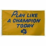 "NCAA Notre Dame ""Play Like A Champion Today"" 3-by-5 foot Flag"