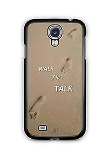 YuBingo Walk the Talk Mobile Case Back Cover for Samsung Galaxy S4