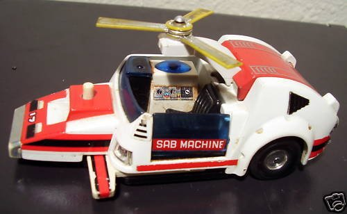 Sab Machine Japanese Japan Diecast Toy Car - 1
