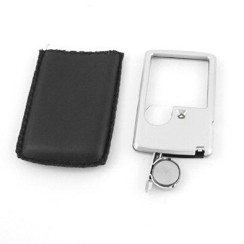 3X 6X White Led Illuminated Card Pocket Magnifier Magnifying Glass