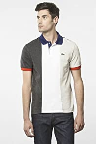 Short Sleeve Pique France Flag Polo