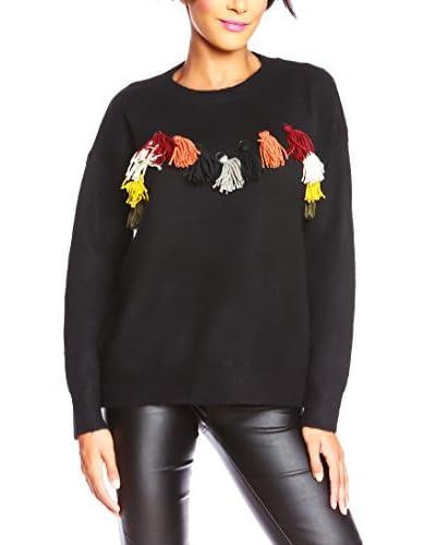ELLA RICHTER PARIS Pullover schwarz