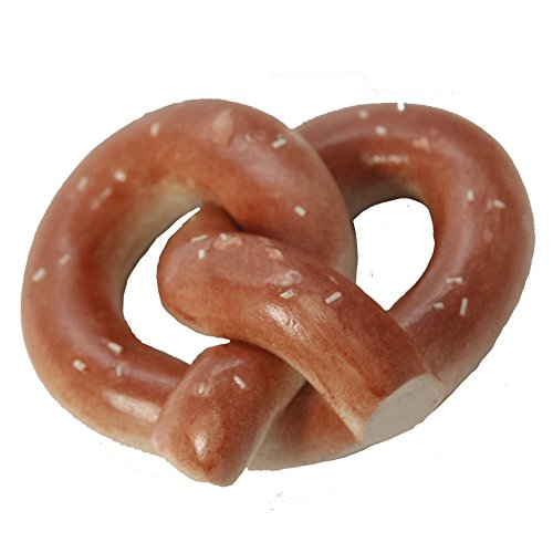 Handmade Polymer Clay Jumbo Pretzel for 18 Inch Dolls Like American Girl - 1