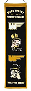 Buy NCAA Wake Forest Demon Deacons Heritage Banner by Winning Streak