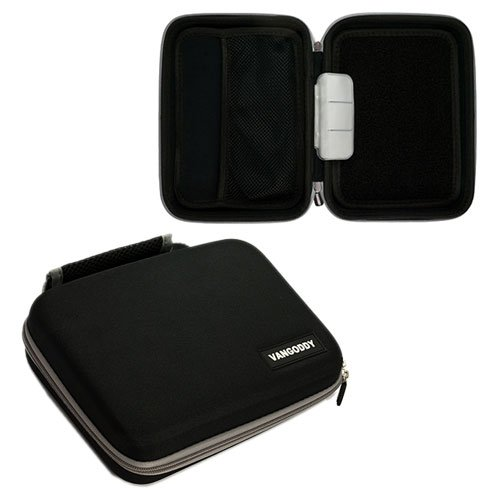 Hard Carry Case Bag Protector For Freeagent Seagate Goflex 1.5Tb  1Tb 2Tb /_black