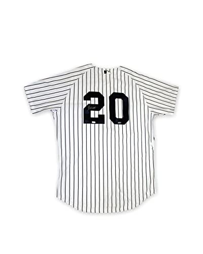 Steiner Sports Memorabilia Jorge Posada Autographed New York Yankees Authentic Home Jersey