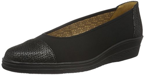 Gabor Shoes Comfort Basic, Mocassini Donna, Nero (Schwarz 87), 41 EU