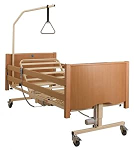 Fully Profiling Bradshaw Electric Adjustable Homecare Hospital Bed