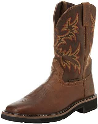 Justin Original Work Boots Men's Stampede Work Boot