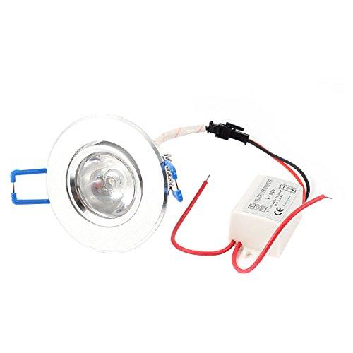 Ac85V-265V 1W Ceiling Downlight Recessed Bulb W Led Driver Warm White