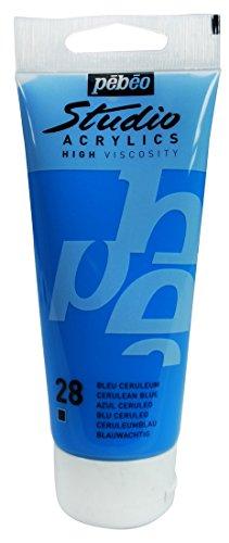 pebeo-831028-studio-colore-acrilico-in-tubetto-100-ml-azzurro-bleu-creruleum