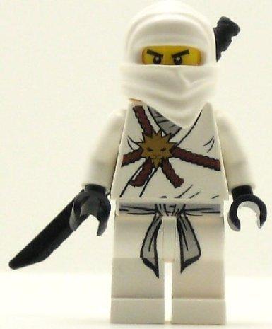 Lego Ninjago Zane - White Ninja Minifigure - 1