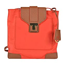 Tory Burch Penn Swingpack Blood Orange Luggage