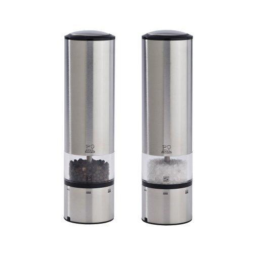 Peugeot Elis Sense u'Select Electric Salt & Pepper Mill Set - Stainless (Peugeot Pepper Salt compare prices)