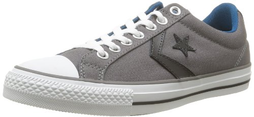 CONVERSE Unisex-Adult Star Player Ev Canvas Ox Trainers 235922-61-12 Gris 8.5 UK, 42 EU