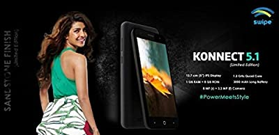 Swipe Konnect 5.1 8GB Sand Stone Black 3G Limited Edition