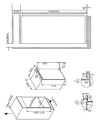 Amica EVKS 16172 Kühlschrank / A++ / 87,5 cm Höhe / 95 kWh/Jahr ...