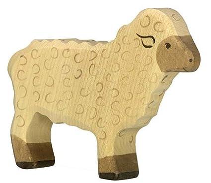 Holztiger - 80073 - Figurine - Mouton, Debout