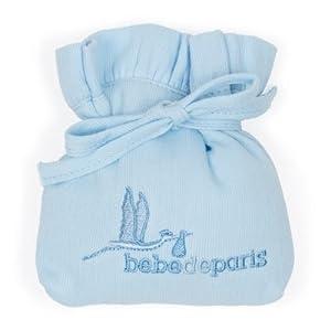 Funda de chupete de bebé de BebeDeParis- Azul de BebeDeParis