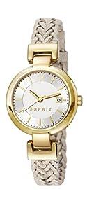 Esprit Damen-Armbanduhr XS Analog Quarz Leder ES107632009