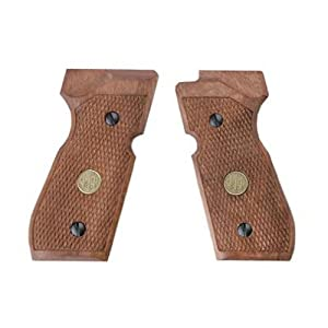 Amazon.com : BERETTA FS92 Wood Grips : Gun Grips : Sports