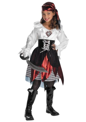 Halloween Concepts Children's Costumes Pirate Girl - Child's small
