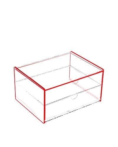 Zings Caja de Almacenamiento Rojo
