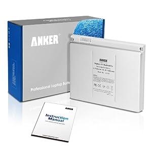 """Anker® Batterie neuve pour ordinateur portable Apple A1175 A1211 A1226 A1260 A1150 MacBook Pro 15"""", Corps en aluminium que l'original [Li-ion, 9-cell, 5600mAh]"""