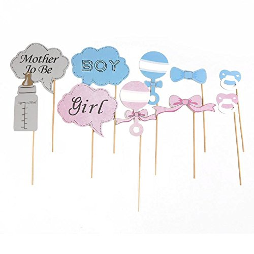 SA Baby Shower / Sexe Reveal Party Photo Booth Props - Little Lady Mini ou Monsieur