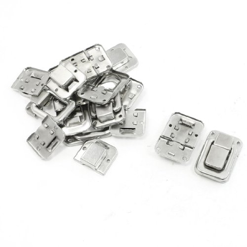 10-Pcs-14-Silver-Tone-Stainless-Steel-Toggle-Latch-Catches-for-Suitcase