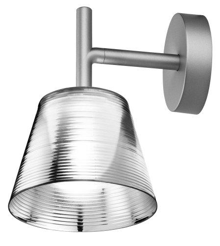 Flos - Romeo Babe K W, Lampada da parete con struttura in alluminio, colore: Argento