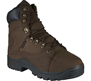 Golden Retriever Footwear Men's 8759,Brown Full Grain Nubuck,US 7 W