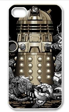 diycellphone dalek doctor who Infographic Iphone 5 case Hard Cases , Design your own Apple Iphone4 protect case sold by choleen
