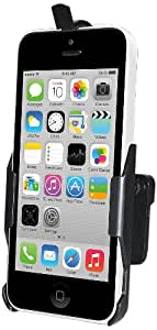 Amzer Swiveling Air Vent Mount Holder for iPhone 5C - Retail Packaging - Black