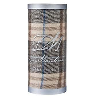 Enzo mantovani cashmere blend scarf brown plaid at amazon for Enzo mantovani