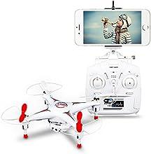 DBPOWER Hawkeye-II FPV Wifi Quadcopter 4CH 6 Achsen RC Drone mit 0.3MP Kamera & LED Leuchten für Anfängerer