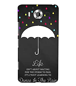 99Sublimation Lovely Quote 3D Hard Polycarbonate Back Case Cover for Microsoft Lumia 950, Nokia Lumia 950