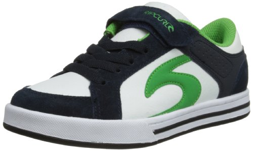 Rip Curl Royal 2 G, A collo basso bambino, Bianco (Navy/Green), 12.5 UK Child
