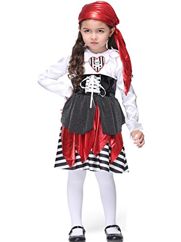 Dudeb (Pirate Lass Childrens Costumes)