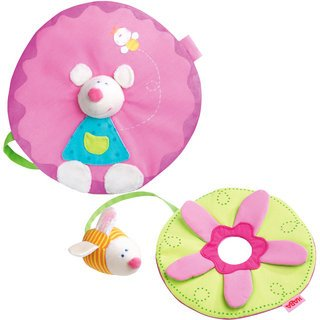 Haba 3710 Comforter + Clutching Toy Honeymouse