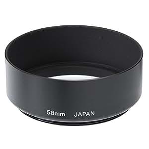【アマゾンオリジナル】 ETSUMI メタルフードII 58mm用 ブラック ETM-83807