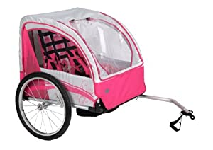 Huffy Bicycle Company Disney Princess Aluminum Bike Trailer Carrier by Huffy