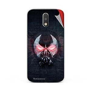 Miicreations Mobile Skin Sticker For Motorola Moto G4 Plus,Devil