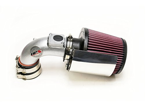 HPS 27-165SL Silver Shortram Air Intake Kit Cool (Non-Carb Compliant)